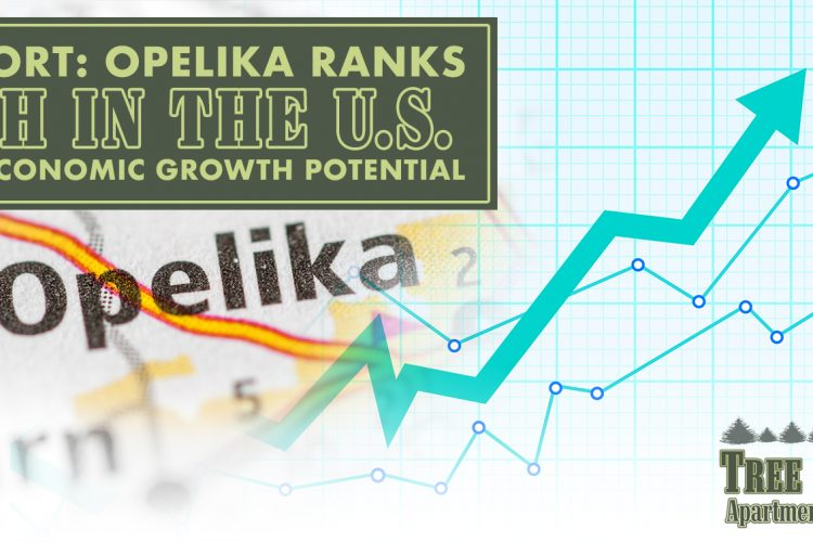 Report: Opelika Ranks 5th in the U.S. for Economic Growth Potential