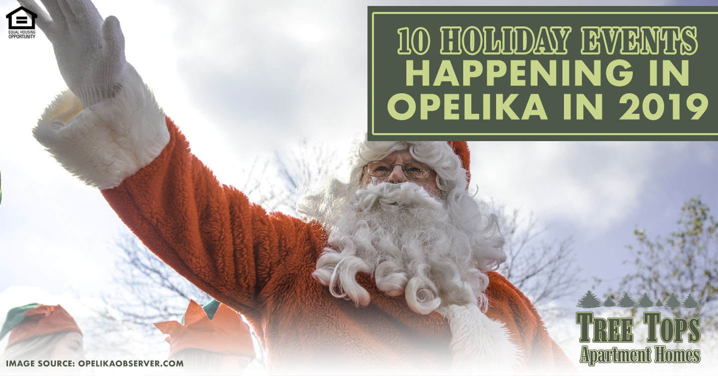 holiday events happening in Opelika in 2019