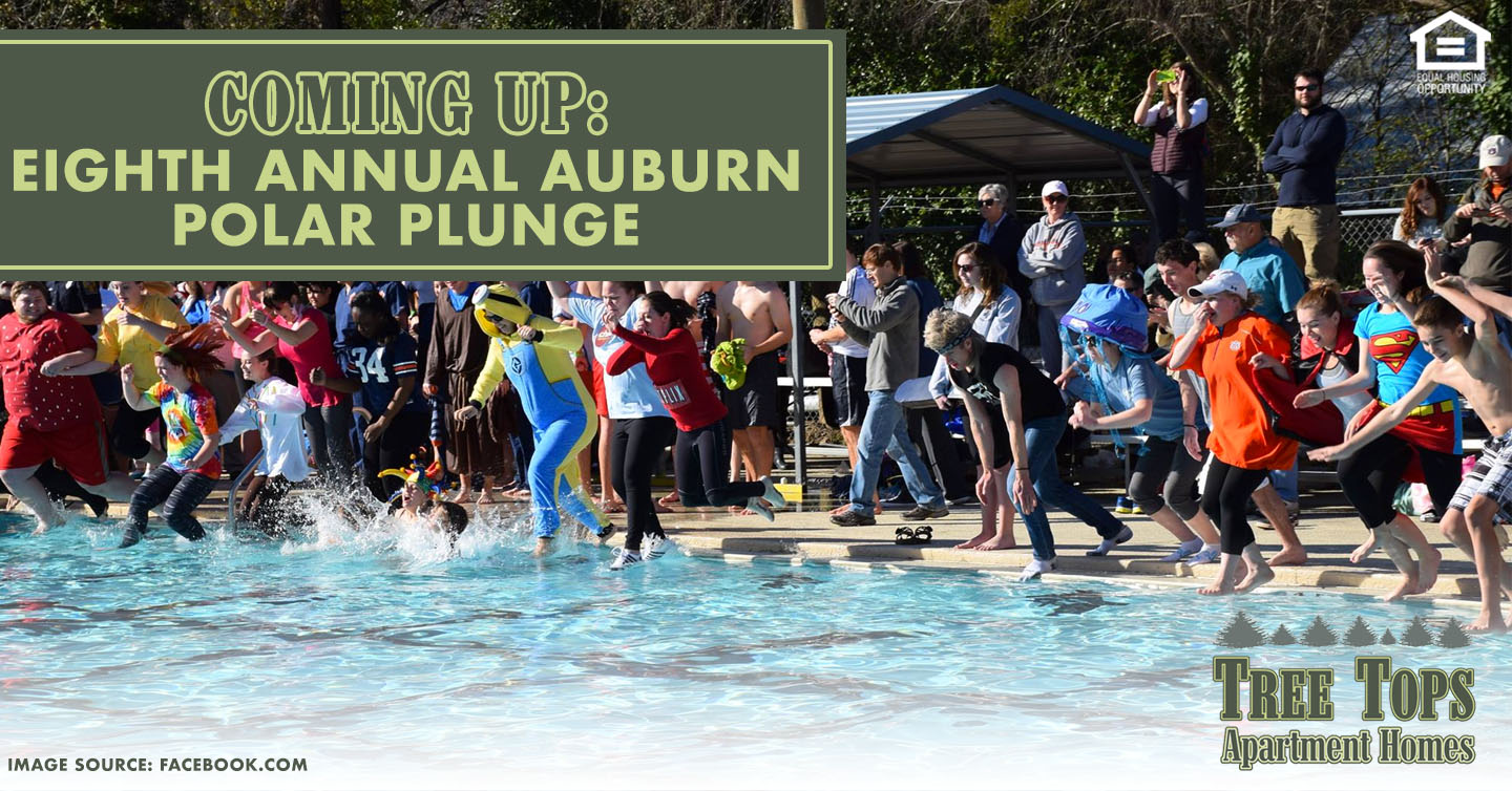 Eighth Annual Auburn Polar Plunge