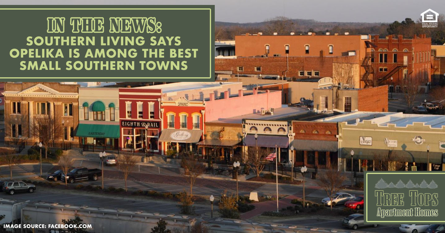 Opelika Is Among the Best Small Southern Towns