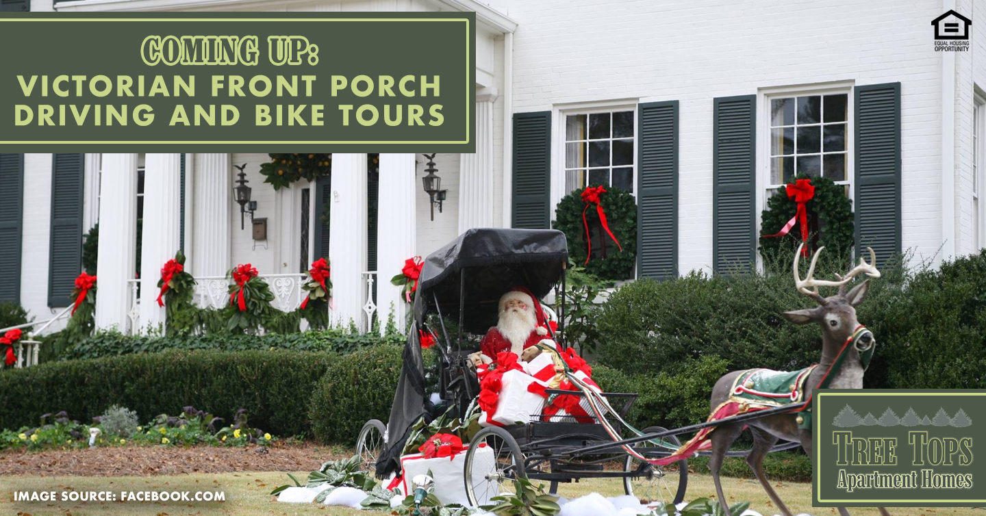 Coming Up: Victorian Front Porch Driving and Bike Tours