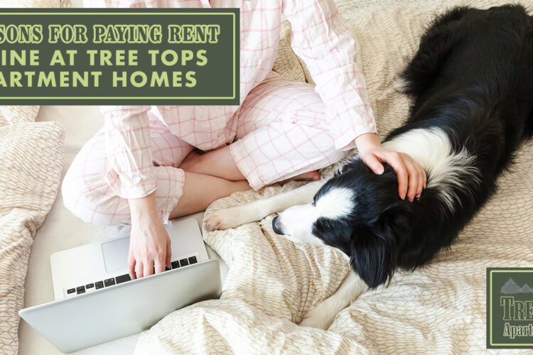 6 Reasons for Paying Rent Online at Tree Tops Apartment Homes